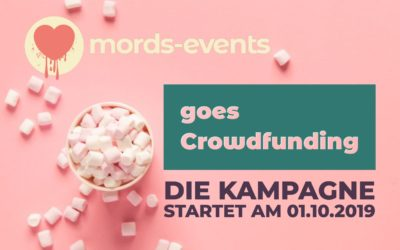 Mords-Musical goes Crowdfunding