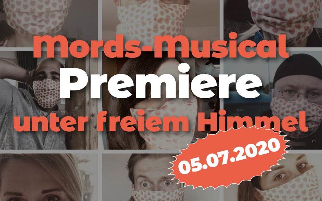 Mords-Musical Premiere unter freiem Himmel