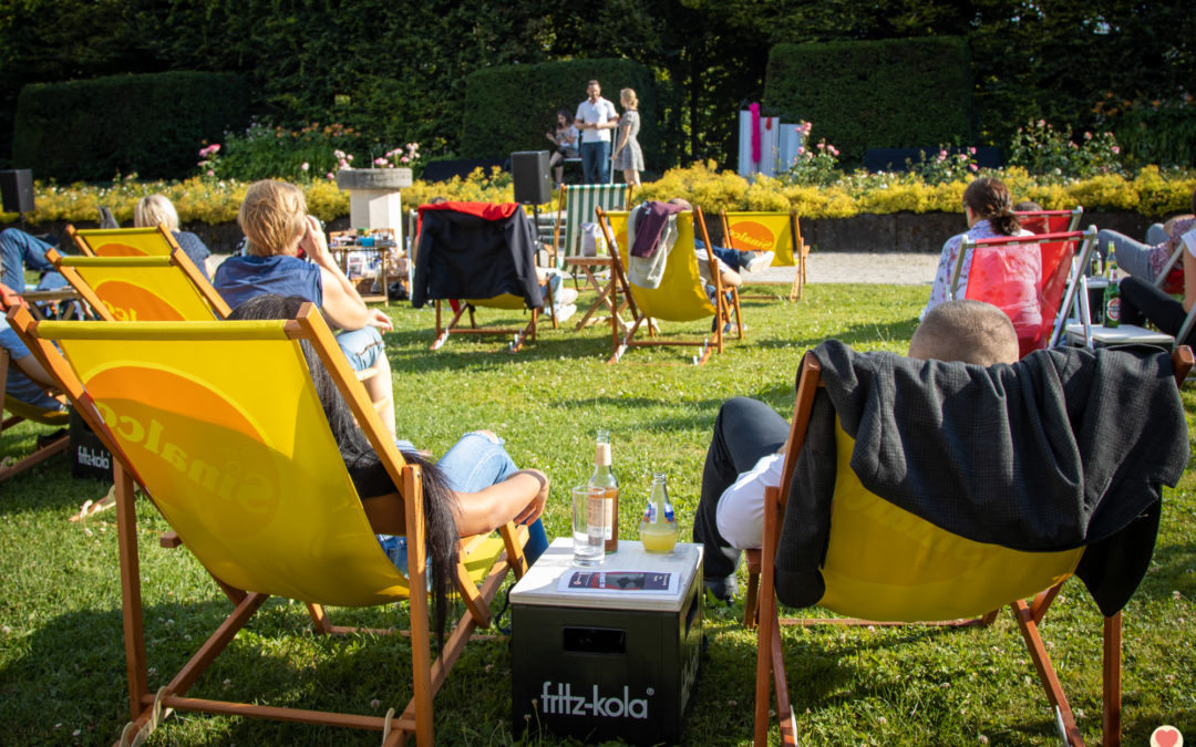 Bilder: Krimitheater-Picknick am 18.07.2020